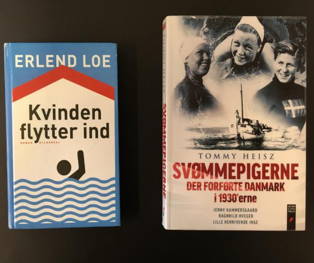 Svøm og læs – eller læs om svøm