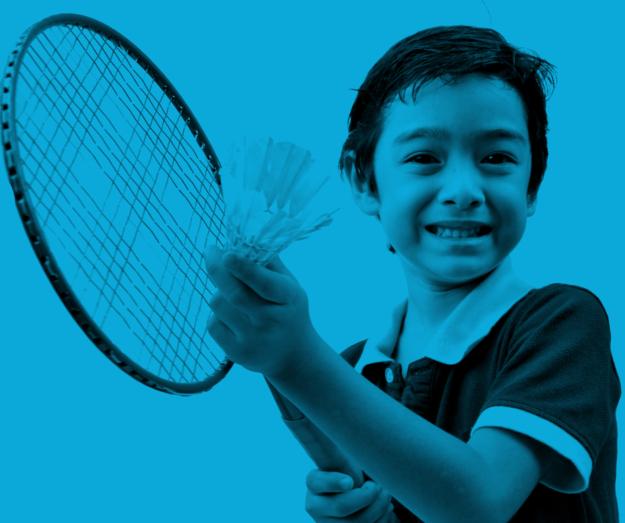 Miniton er badminton-kvalitetstid for børn og forældre
